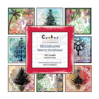 Crafty Individuals Miniature Image Book - 'Issue 6, Merry Christmas'