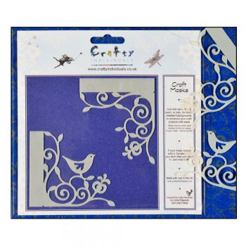 Crafty Individuals Craft Masks - 'Victoria Corners' Masks (x 2 designs per pack), 66mm x 70mm