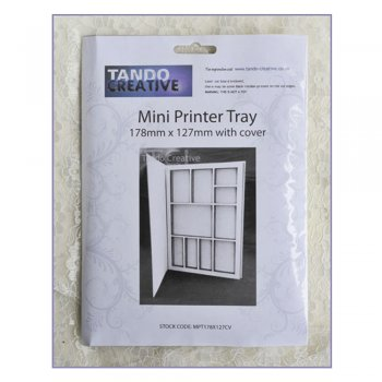 Tando Creative Must Haves - Tando 'Mini Printer Tray with cover', 127mm x 178mm