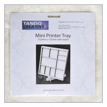 Tando Creative Must Haves - Tando 'Mini Printer Tray with stand', 152mm x 152mm
