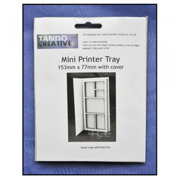 Tando Creative Must Haves - Tando 'Mini Printer Tray with cover', 77mm x 153mm