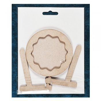 Tando Creative Must Haves - Tando 'Round Frame with stand' 95mm diameter