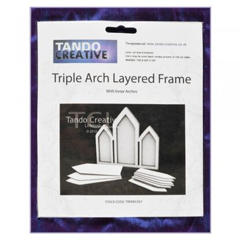 Tando Creative Must Haves - Tando 'Triple Arch Layered Frame' 155mm x 140mm