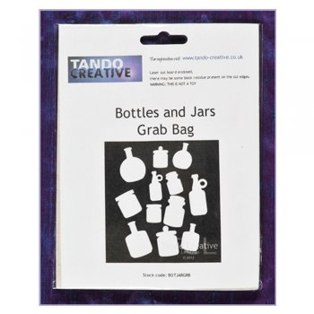 Tando Creative Must Haves - Tando 'Mini Bottles and Jars Grab Bag' 35mm x 50mm each approximately