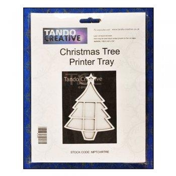 Tando Creative Must Haves - Tando 'Christmas Tree Printer Tray', 150mm x 200mm