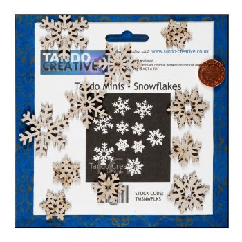 Tando Creative Must Haves - Tando Minis 'Snowflakes'