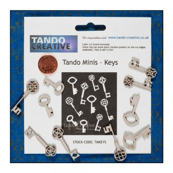 Tando Creative Must Haves - Tando Minis 'Keys'