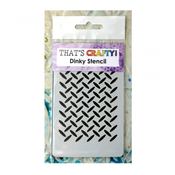 That's Crafty Must Haves - 'Dinky Stencil, Metal Grid' 75mm x 120mm