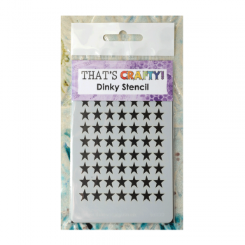 That's Crafty Must Haves - 'Dinky Stencil, Stars', 75mm x 120mm