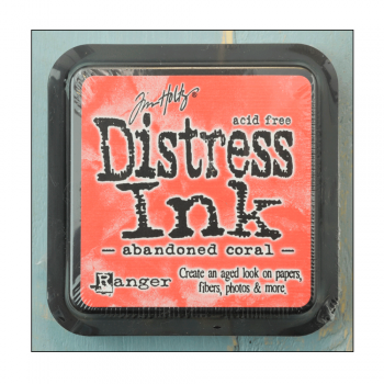 Ranger Must Haves - 'Distress Ink Pad - Abandoned Coral'