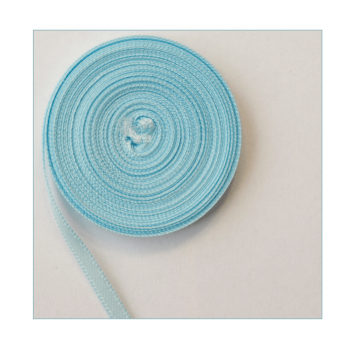 Stix2 Must Haves - 'Narrow Pale Blue Satin Ribbon Trim' 3mm x 5 metres