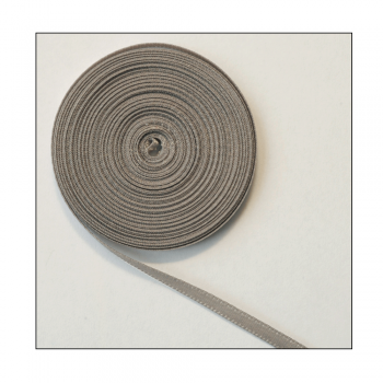 Stix2 Must Haves - 'Narrow Silver/Grey Satin Ribbon Trim' 3mm x 5 metres
