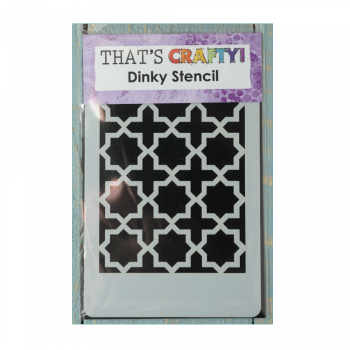 That's Crafty Must Haves - 'Dinky Stencil, Moroccan Background' 75mm x 120mm