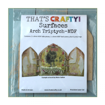 That's Crafty Must Haves - 'Arch Triptych' 150mm x 150mm folded