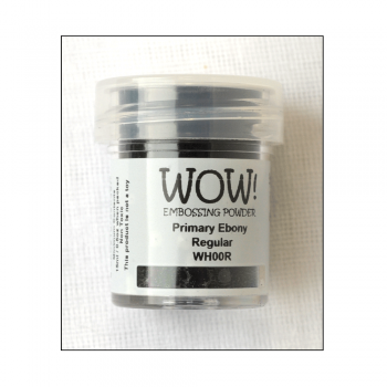 WOW! Must Haves - 'WOW Primary Ebony Detail Embossing Powder'