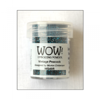 WOW! Must Haves - 'WOW Vintage Peacock Embossing Glitter'