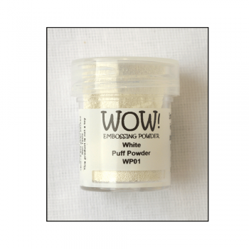 WOW! Must Haves - 'WOW White Puff Twinkle Embossing Powder'