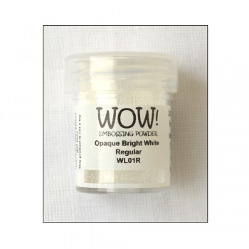 WOW! Must Haves - 'WOW Opaque Detail Bright White Embossing Powder'