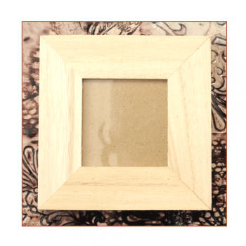 Must Haves - 'Small Square Wood Frame', 100mm sq