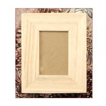 Must Haves - 'Small Oblong Wood Frame', 90mm x 110mm