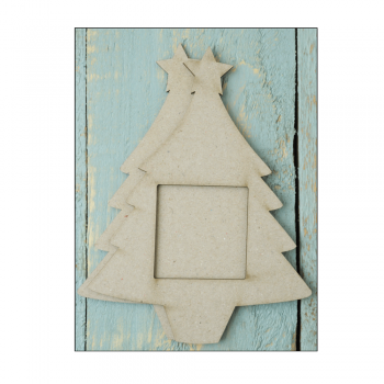 Crafty Individuals Must Haves - '2 Piece Small Laser Cut Chipboard Christmas Tree', 100mm x 130mm