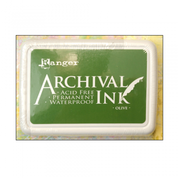Ranger Must Haves - 'Archival Ink Pad - Olive'