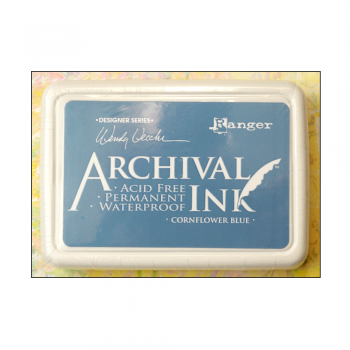 Ranger Must Haves - 'Archival Ink Pad - Cornflower Blue'