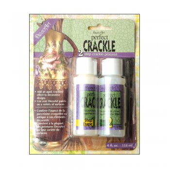 Deco Art Must Haves - 'Perfect Crackle by DecoArt - 2 Step Crackle'