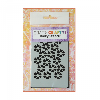 That's Crafty Must Haves - 'Dinky Stencil, Flowers', 75mm x 120mm