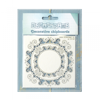 Must Haves - 'Park Avenue Round Frames, Decorative Laser Cut Chipboard' up to 90mm x 90mm