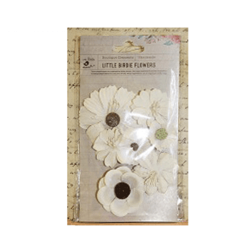 Little Birdie Must Haves - 'Jamie Moon Light Paper Flowers, 7 pcs, up to 70mm