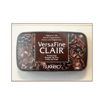 Tsukineko Must Haves - 'VersaFine Clair Pigment Stamp Pad - Pinecone'