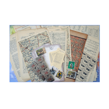 Crafty Individuals Must Haves - 'Special Offer Genuine Vintage Collage Assortment Package'