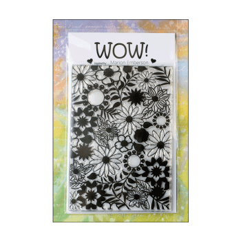 WOW! Must Haves - 'WOW Blossom Clear Stamp' 100mm x 140mm