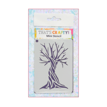 That's Crafty Must Haves - 'Mini Stencil, Tree', 75mm x 105mm