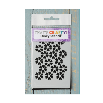 That's Crafty Must Haves - 'Dinky Stencil, Flowers' 75mm x 120mm