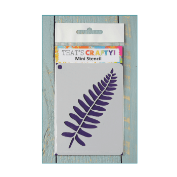 That's Crafty Must Haves - 'Mini Stencil, Fern', 75mm x 105mm