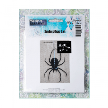 Tando Creative Must Haves - 'Chipboard Spiders x 6, by Tando Creative' up to 65mm x 120mm