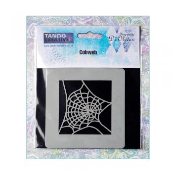 Tando Creative Must Haves - 'Mini Mask, Cobweb', 65mm x 65mm