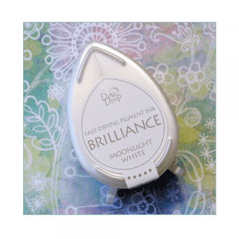 Tsukineko Must Haves - 'Brilliance, Dew Drop Ink Pad - Moonlight White'