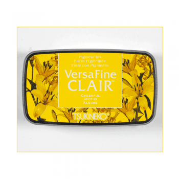 Tsukineko Must Haves - 'VersaFine Clair Pigment Stamp Pad - Cheerful'