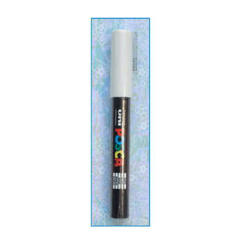 Must Haves - 'White Uni Posca Bullet Fine Pen 0.7mm'