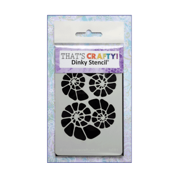 That's Crafty Must Haves - 'Dinky Stencil, Fossils', 75mm x 120mm