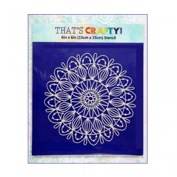 That's Crafty Must Haves - Mask, Mandala 5', 6in x 6in