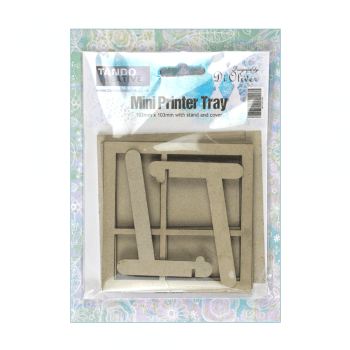 Tando Creative Must Haves - Tando 'Mini Printer Tray with stand and cover', 103mm x 103mm