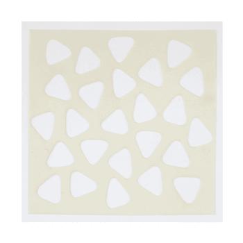 Crafty Individuals Craft Masks - 'Triangular Bells', 150mm x 150mm