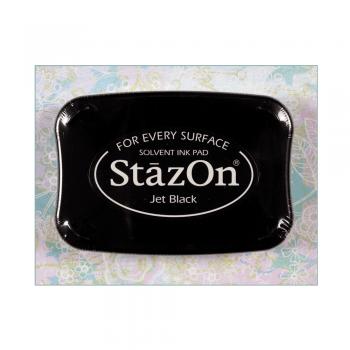 Tsukineko Must Haves - 'StazOn Solvent Ink Pad - Jet Black'