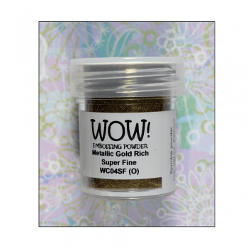 WOW! Must Haves - 'WOW Metallic Gold Rich Super Fine Embossing Powder'