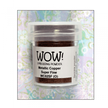 WOW! Must Haves - 'WOW Metallic Copper Super Fine Embossing Powder'