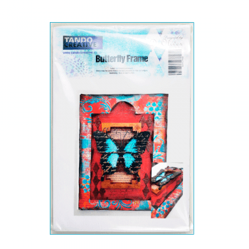 Tando Creative Must Haves - 'Butterfly Frame Kit, by Tando Creative', 110mm x 185mm